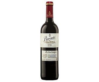 Beronia Vino tinto ecológico con denominación de origen calificada Rioja Botella de 75 cl