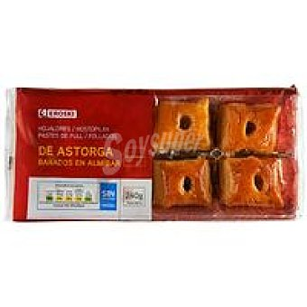 Eroski Hojaldre de Astorga Paquete 240 g