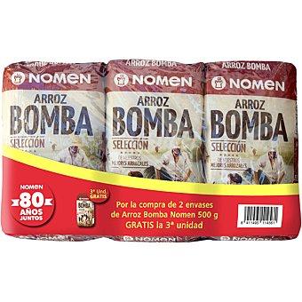 Nomen Arroz bomba selección Pack 2 envase 500 g