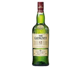 The Glenlivet Whisky escoces single malt con maduración de 12 años Botella de 70 cl