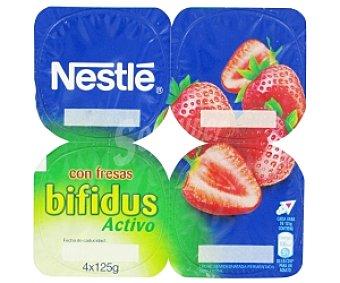 Nestlé Yogur Bífidus con Fresa 4x125g
