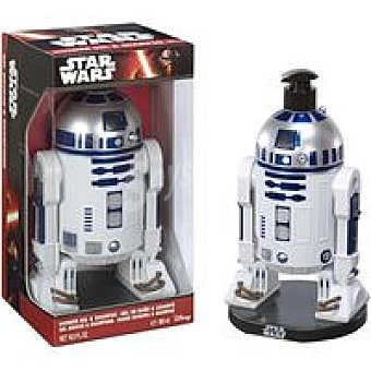 Star Wars Disney Gel&champú Figura R2D2 Bote 500 ml