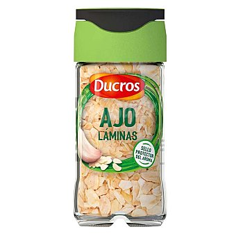 Ducros Ajo en láminas ducros Frasco 22 g