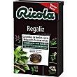 Caramelos balsamicos de hierbas suizas sin azucar sabor regaliz caja 50 g 50 g Ricola