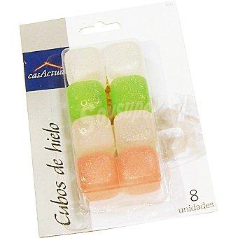 CASACTUAL Cubos de hielo set de 8 unidades 8 unidades