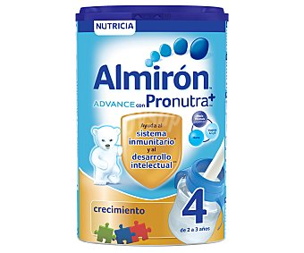Almirón Nutricia Leche crecimiento 4, para niños de 2 a 3 años Advance 800 g