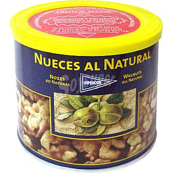 HIPERCOR nueces al natural lata 200 g