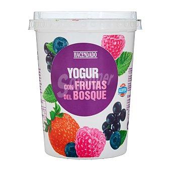 Hacendado Yogur cremoso trozos frutas bosque u - 500 g