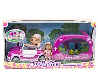 BARRIGUITAS 2 Mini muñecas con Caravana Van 1 Unidad