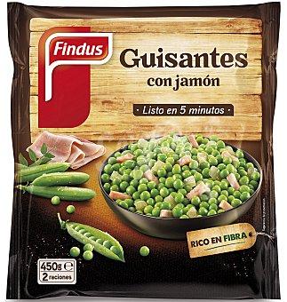 Guisantitos verdeliss con jamón 450 g