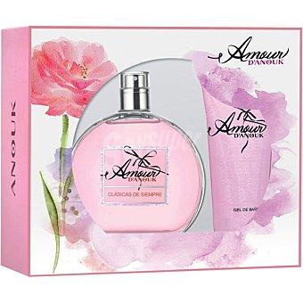 D'ANOUK Amour eau de toilette natural femenina + gel de baño Spray 100 ml