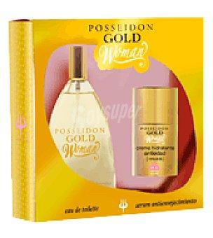 Posseidon Estuche Colonia Gold for Woman 150 ml. + serum antienvejecimiento 50 ml. 1 ud