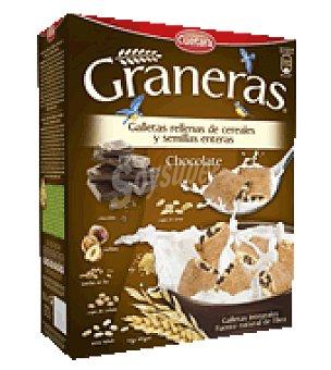 Cuétara Galletas rellenas de chocolate Graneras 330 g