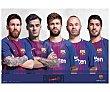 Vade escolar 34,5 x 49,5 cm, FC barcelona  Fc barcelona