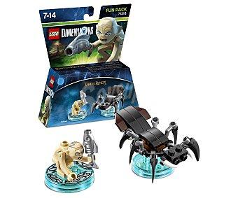 LEGO Pack de diversión Gollum, El Señor de los Anillos, incluye 2 figuras interactivas Lego Dimensions 1 unidad