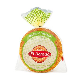 El Dorado Arepa de maíz dulce 4 ud