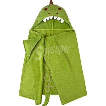 Casactual Dinosaurio toalla poncho infantil color verde