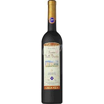 HERETAT VALL-VENTOS Vino tinto crianza cabernet sauvignon 100% D.O. Penedés Botella 75 cl