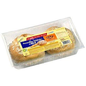 Diet Rádisson Panecillos rústicos de maíz sin gluten Envase 210 g