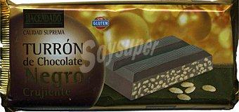 Hacendado Turron chocolate negro crujiente Pastilla 300 g