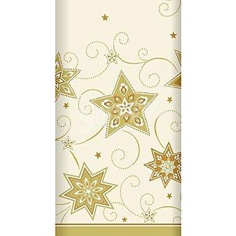 Papstar Mantel Just Stars color crema 120X180 cm 1 unidad