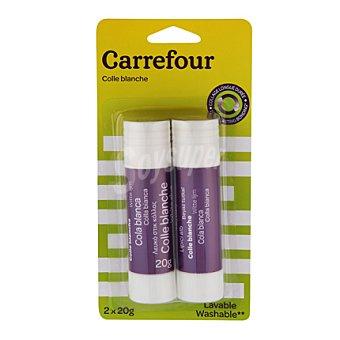Carrefour Pack Barras Pegamento 20gr 2 ud