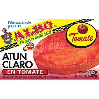 Albo Atún claro en tomate Lata 82 g (peso neto escurrido)