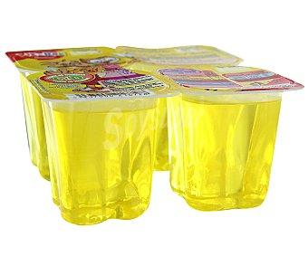 Rik&Rok Auchan Gelatina de limón 4 unidades de 100 gramos