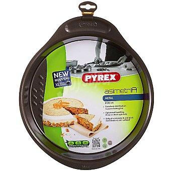 PYREX Asimetría Molde hondo de metal para tarta 26 cm