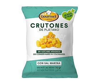 Gourmet Latino Crutones de plátano con sal marina 70 g