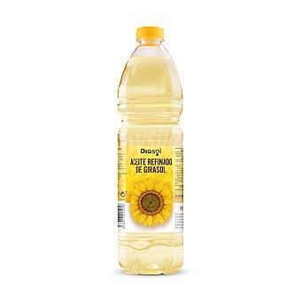 DIASOL Aceite refinado de girasol Botella 1 lt