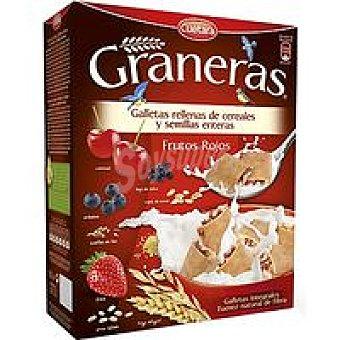 Cuétara Graneras con frutos rojos Caja 330 g