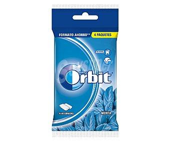 Orbit Chicle peppermint 10 grageas 4 unidades (56 g)