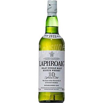 Laphroaig Whisky escocés de malta 10 años Botella 70 cl