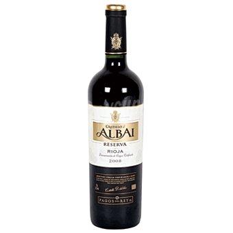 Castillo de Albai Vino tinto reserva D.O. Rioja botella 75 cl Botella 75 cl