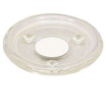 GÓTICA Soporte transparente para vela calientaplatos o tealight, 10.5 centímetros de diámetro 1 unidad