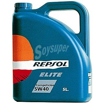 REPSOL Elite Aceite de motor competición 5W40 bidón 5 l