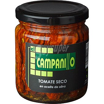 El campanillo Tomate seco deshidratado en aceite de oliva Tarro 125 g neto escurrido