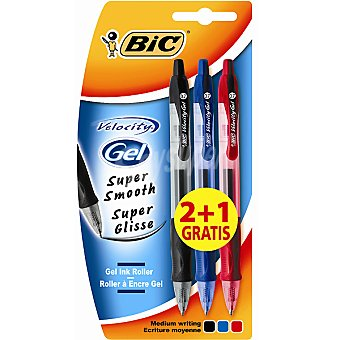Bic Bolígrafos en colores surtidos Pack 3