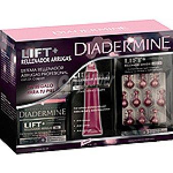 Diadermine Pack lift + rellenador de arrugas con dr.caspari con crema de día + roll-on anti-arrugas + cápsulas