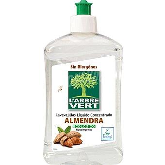 L'arbre vert Lavavajillas conc. ecol. almendra lárbre Botella 500 ml