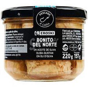 Eroski Bonito en aceite de oliva Frasco 220 g