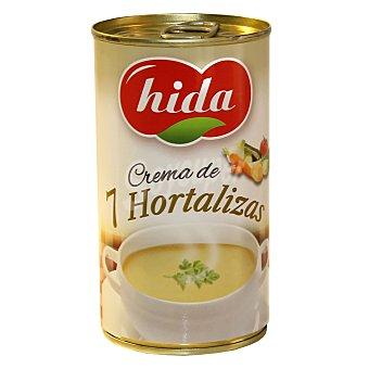 Hida Crema de 7 hortalizas Lata de 345 g
