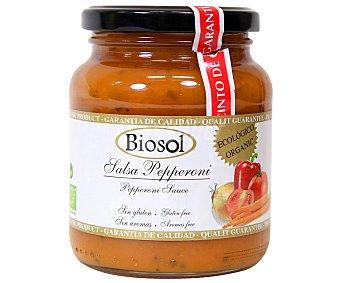 Sensade Salsa de peperoni ecológico biosol Tarro de 350 gr