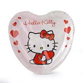 Bbs Platos cartón 18 cm. Hello Kitty 8u 8u
