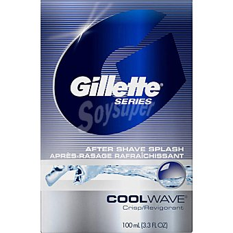 GILLETTE Cool Wave After shave loción Frasco 100 ml