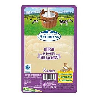 Central Lechera Asturiana Queso en barra loncheado 120 g