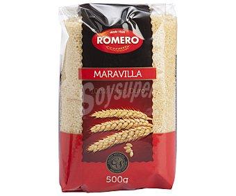 Romero Maravillas, pasta de sémola de trigo duro de calidad superior 500 Gramos