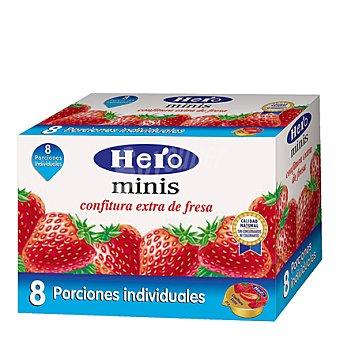 Hero Confitura de fresa categoría extra Hero 200 g