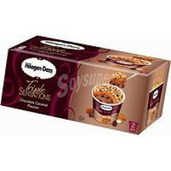 HAGEN DASZ Helado chocolate triple sensations 2X86ml